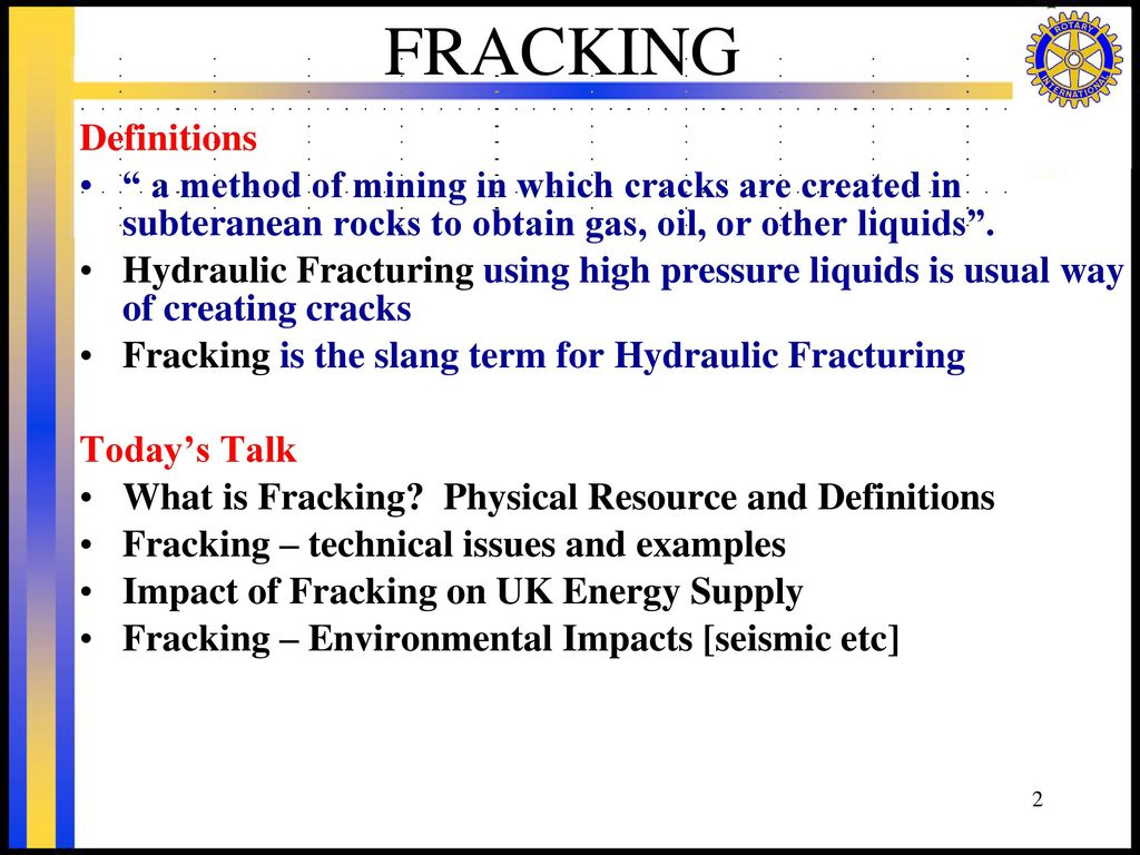 Fracking February 2nd 2017 Keith Tovey 杜伟贤 Ppt Download