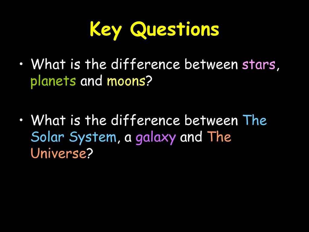 difference between stars and planets with comparison - HD 1024×768