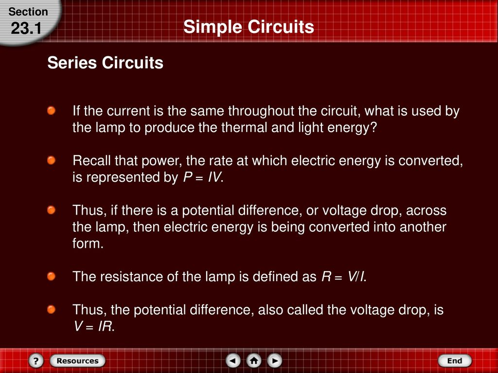 Series And Parallel Circuits Ppt Download Simple Lamp Circuit 14