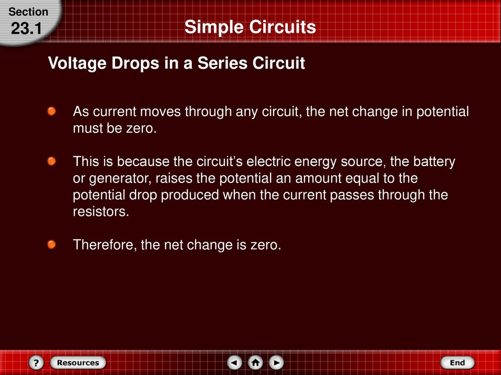 Series And Parallel Circuits Ppt Download Simple Electric Circuit Made Up Of A Voltage Source Resistor 20 231