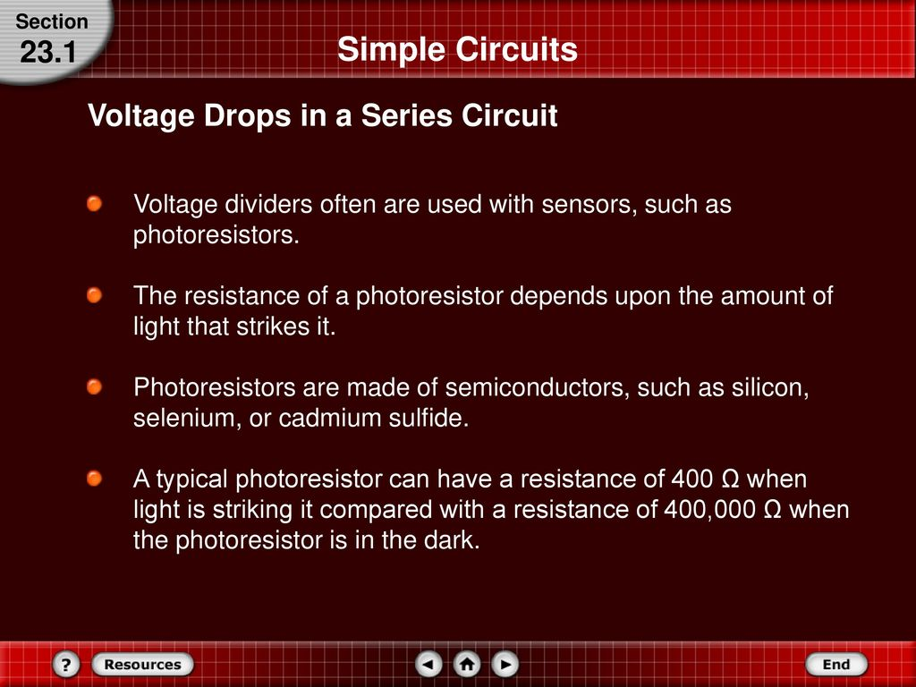 Series And Parallel Circuits Ppt Download Simple Voltage Divider Circuit 24