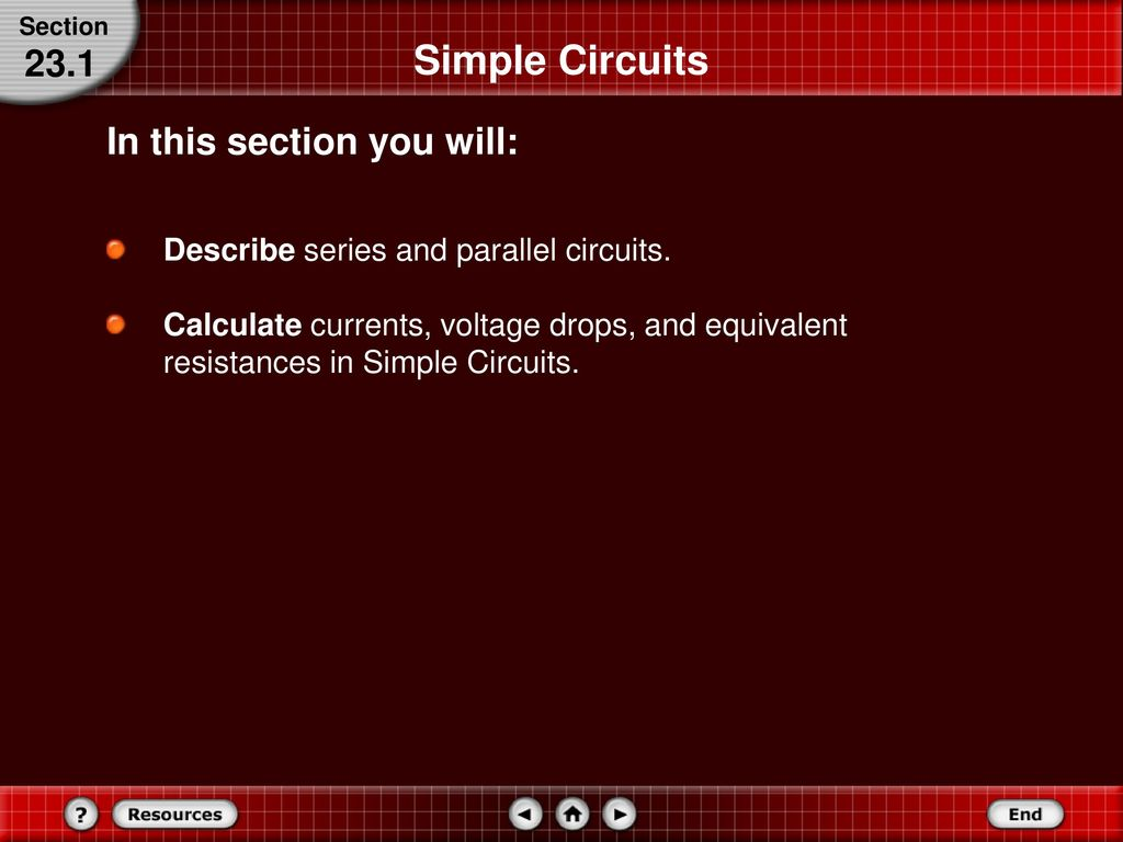 Series And Parallel Circuits Ppt Download Voltage Drop In A Circuit Simple 231 This Section You Will