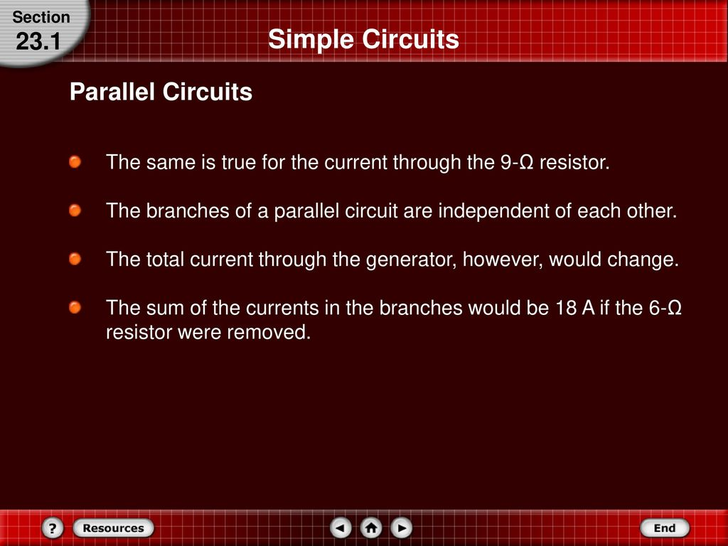 Series And Parallel Circuits Ppt Download Simple Circuit 48 231