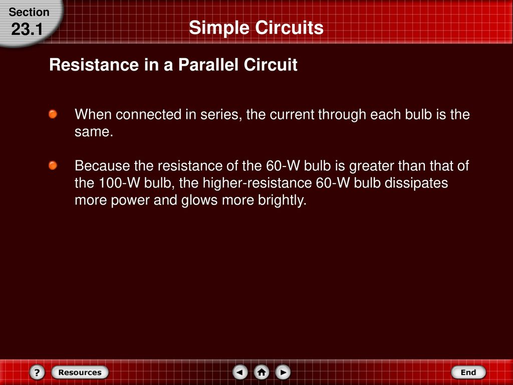 Series And Parallel Circuits Ppt Download Bulb Connected To The Same Circuit Can Still Be Working A Simple 231 Resistance In