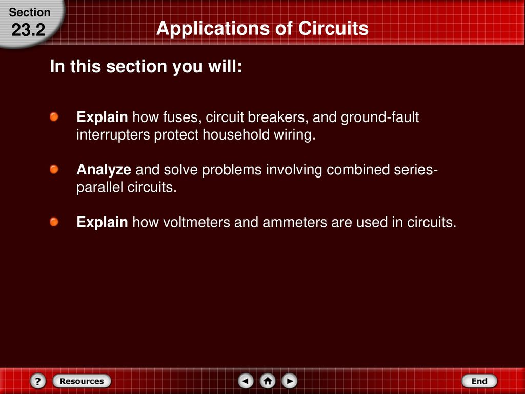 Series And Parallel Circuits Ppt Download Basic Household Wiring Circuit Applications Of