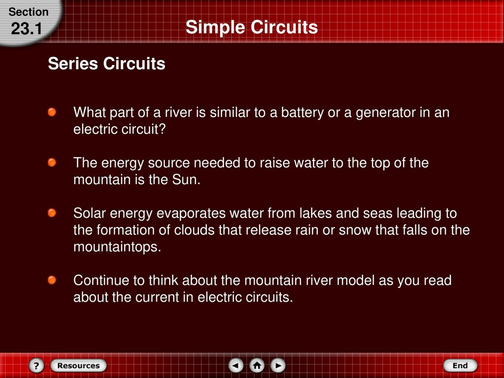 Series And Parallel Circuits Ppt Download An Electrical Circuit Also Requires A Power Source Battery Generator Simple 231