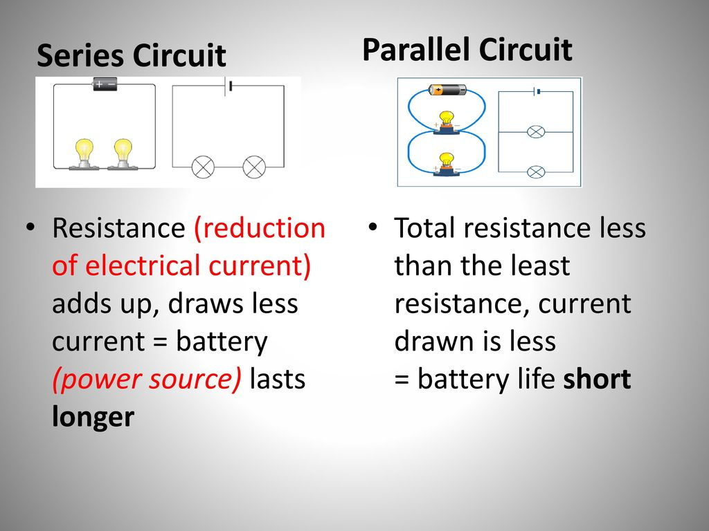 Advantages And Disadvantages Of Series Parallel Circuits Ppt Circuit Examples Resistors In Resistor 3