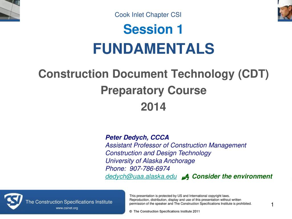 Construction Document Technology Cdt Ppt Download