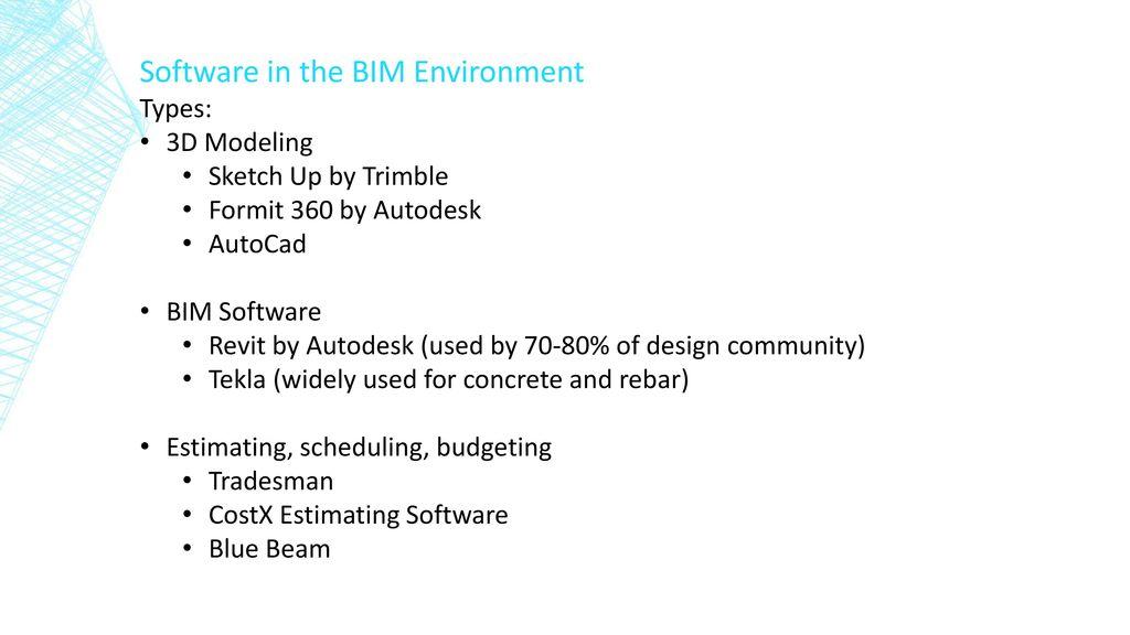 BIM Deliverables For Mason Contractors