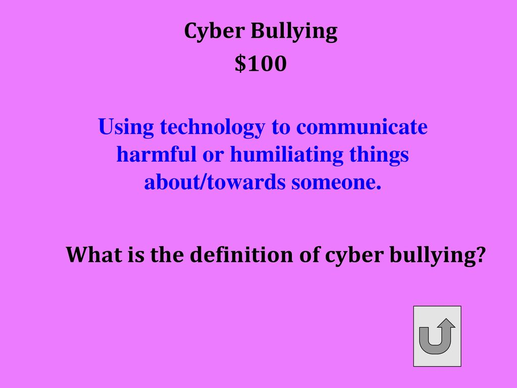 no bullying = more respect - ppt download
