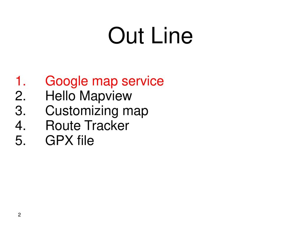 Android Application Maps Ppt Download - Track my route on google maps