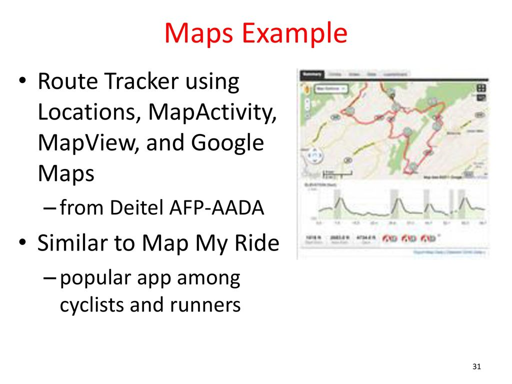 Android Application Maps Ppt Download - Google maps trace my route