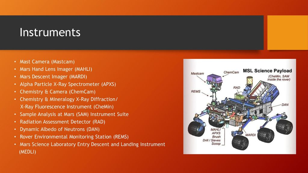Mars and Curiosity Rover - ppt download