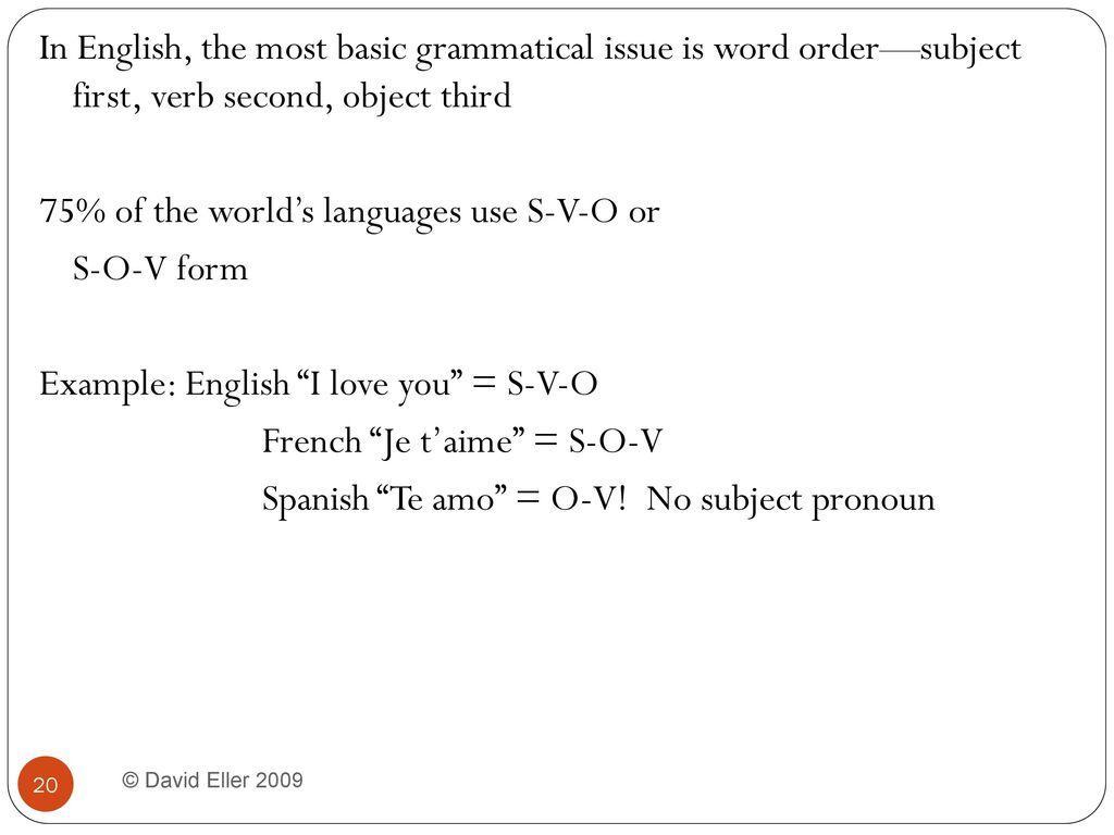 chapter 4 language and social relations david eller ppt download