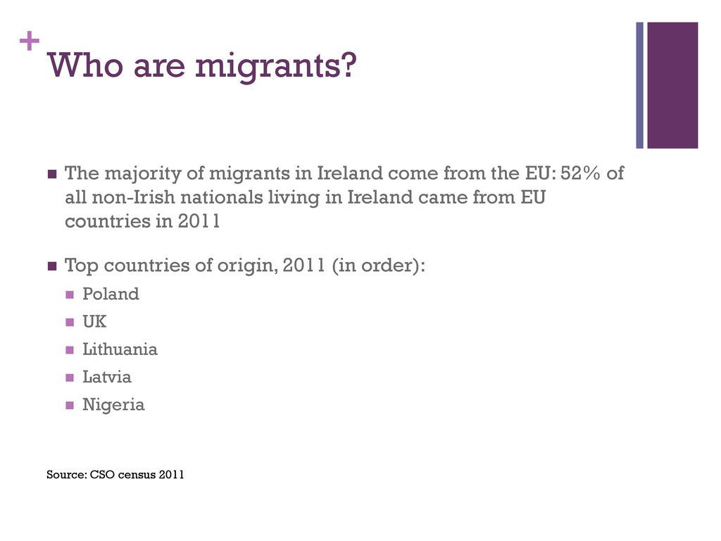 Violence against migrant women in Ireland - ppt download