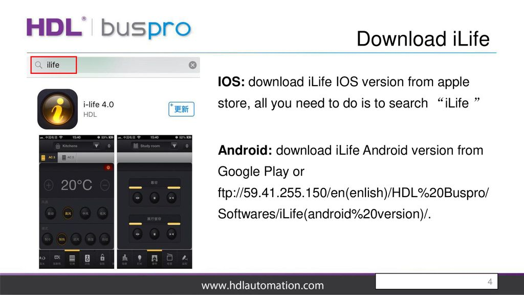 ILife App  - ppt download