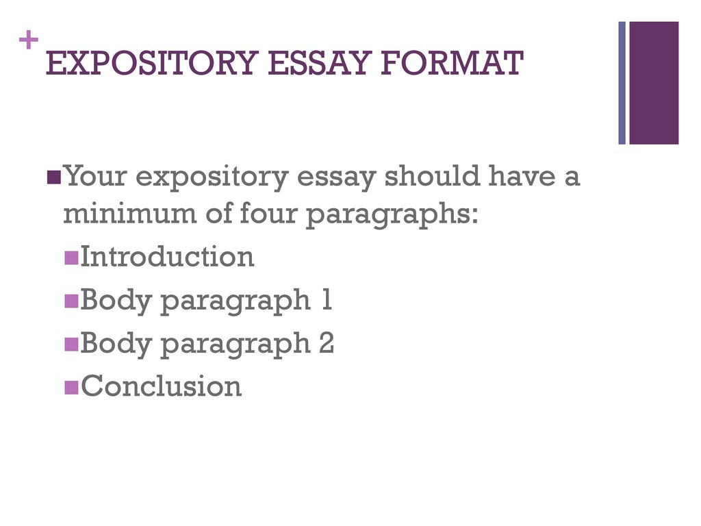 expository essay format - ppt download