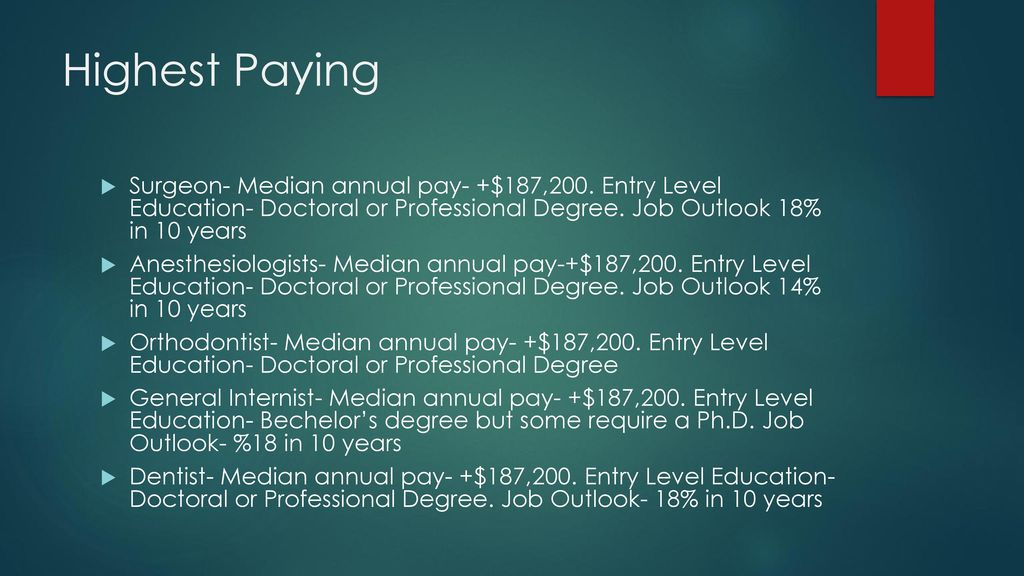 Occupational Outlook By Mark Schilstra Ppt Download