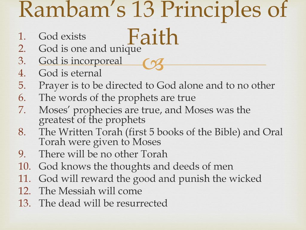 Image result for 13 principles of faith
