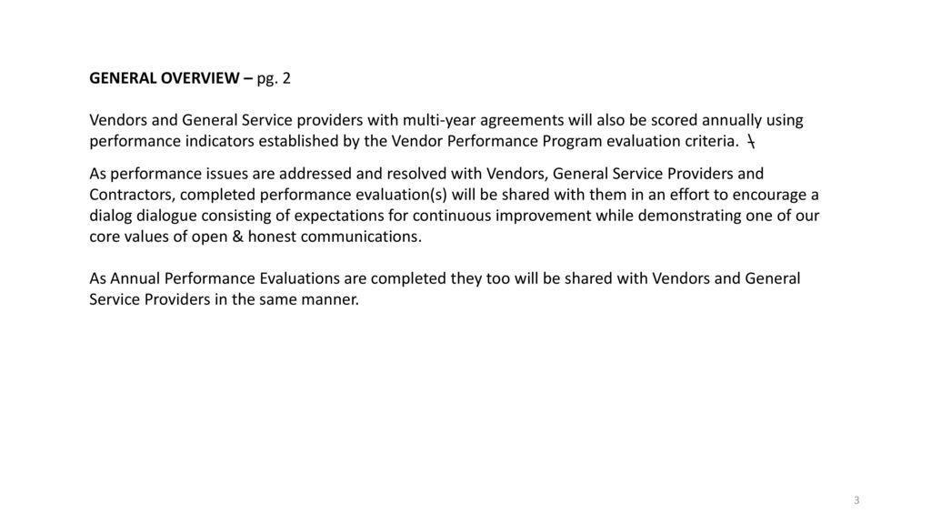 Vendor Performance Program Overview - ppt download