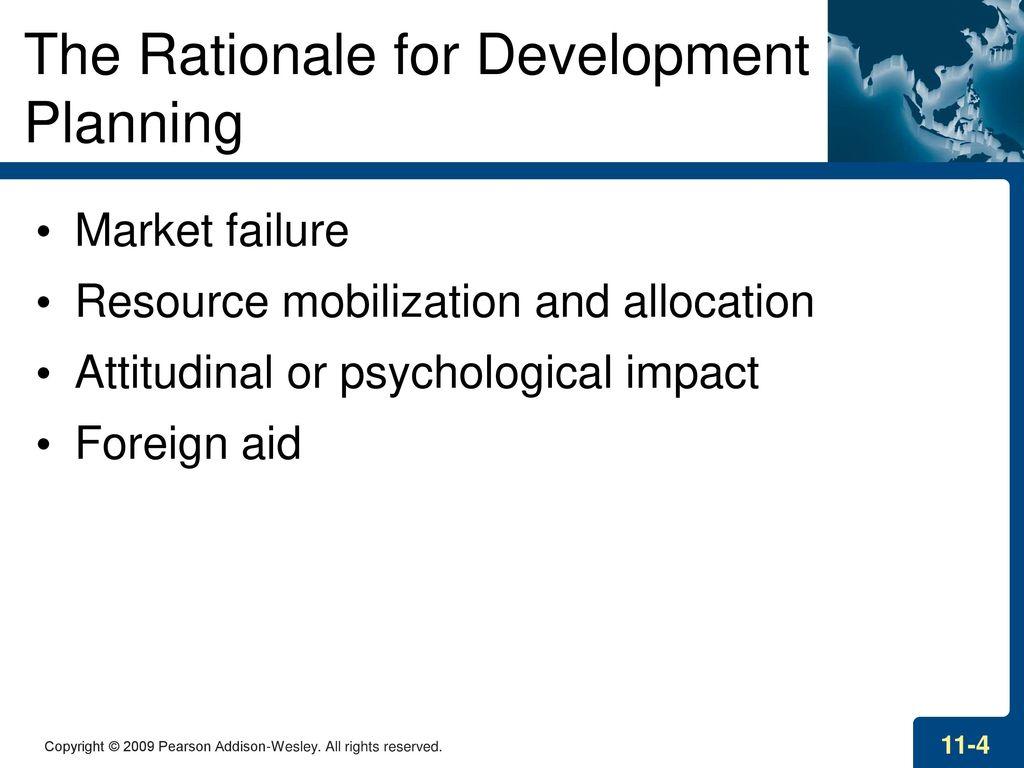rationale of development planning