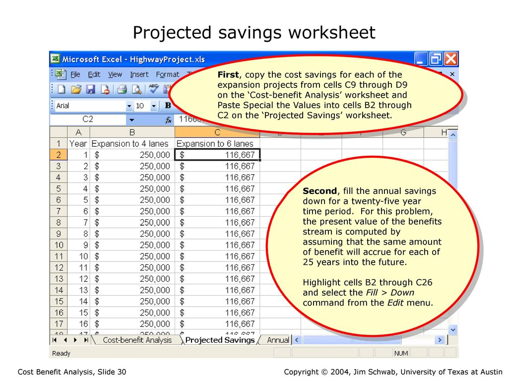 Cost Benefit Analysis Ppt Download