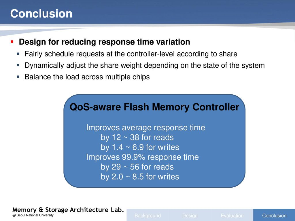 QoS-aware Flash Memory Controller - ppt download
