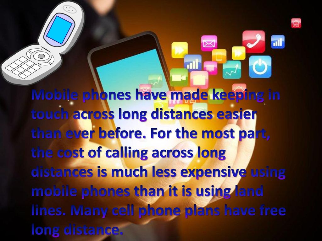 Mobile phone  - ppt download