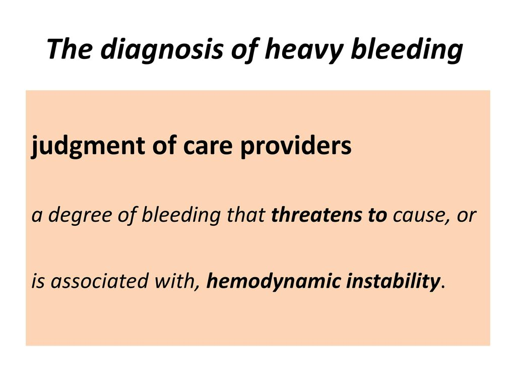 postpartum hemorrhage - ppt download