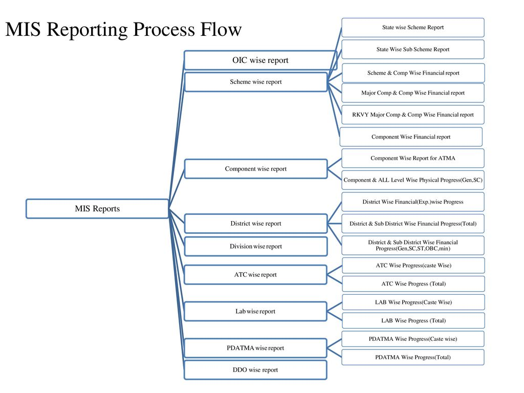 Data Flow Diagram For Monthly Progress Reporting (MPR) - ppt