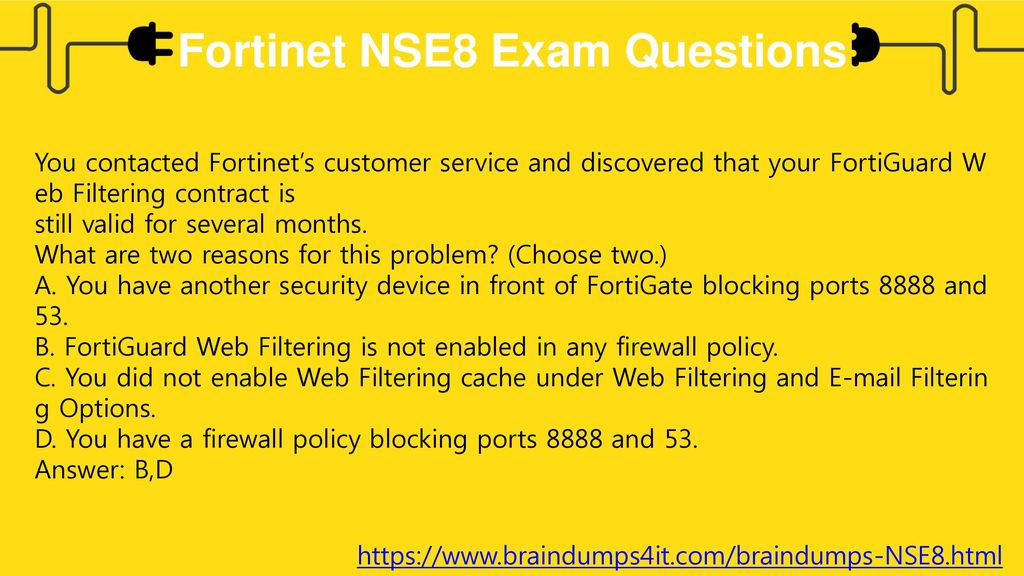 Fortinet NSE8 Exam Do You Want To Pass In First Attempt