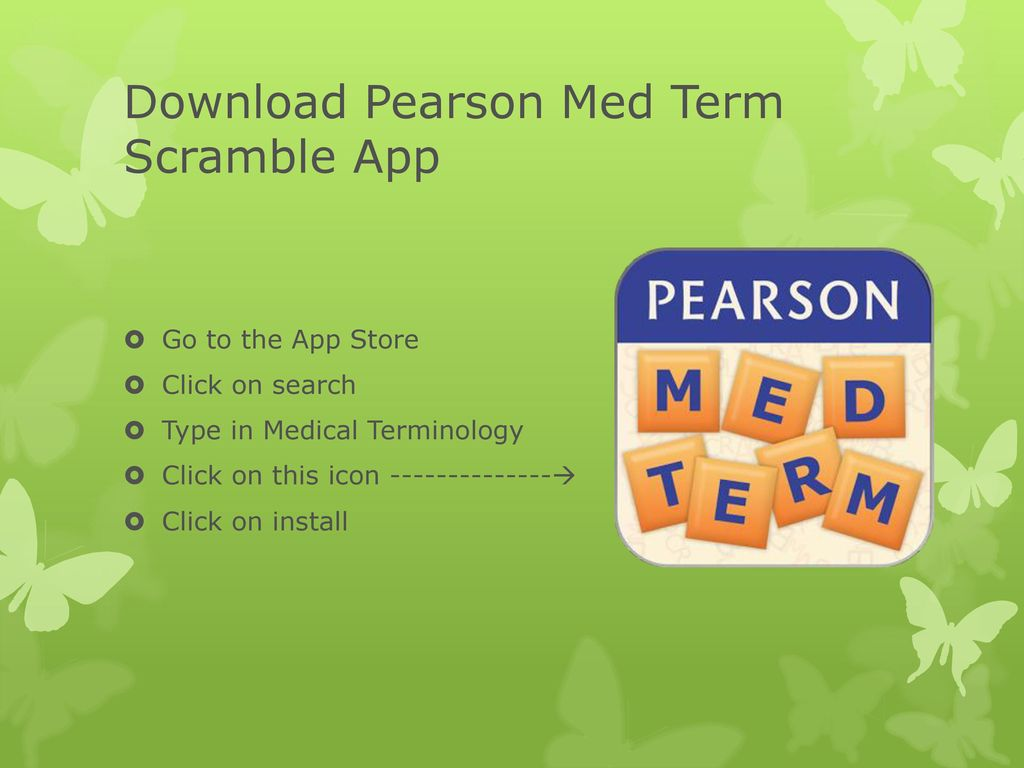 Welcome to Medical Terminology with Professor Fowler - ppt download
