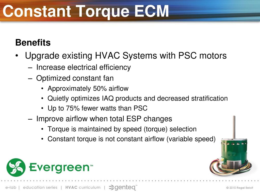 This Slide Is Hidden It Will Not Show Up During Presentation Ppt Emc Motors Wiring Diagram Hvac Constant Torque Ecm Retrofit Indoor Blower
