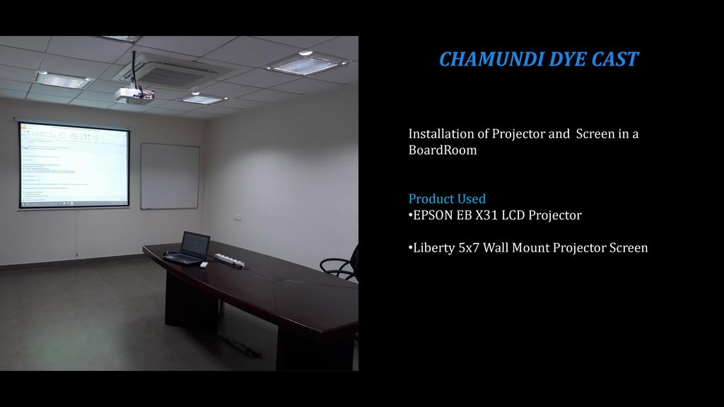 Conference And Boardroom Installations Ppt
