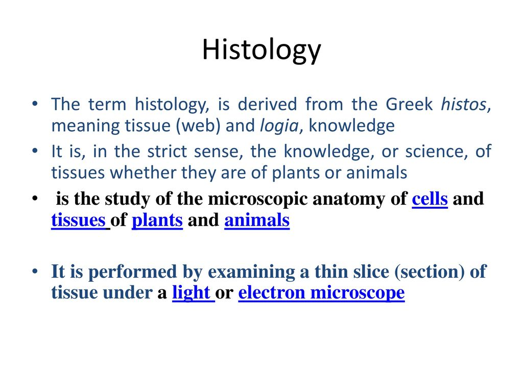 VAN-504, Lecture- 01 General Histology: Structure of animal cell and ...