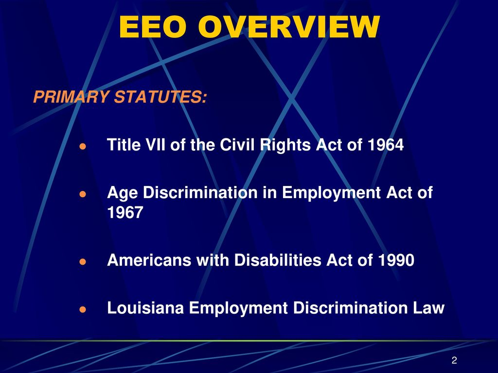 Sexual harassment laws in louisiana