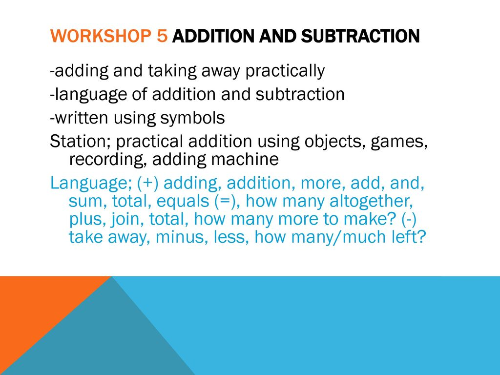 NUMERACY WORkSHOP Year one. - ppt download