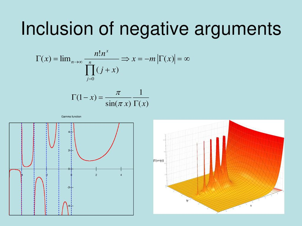 Inclusion of negative arguments