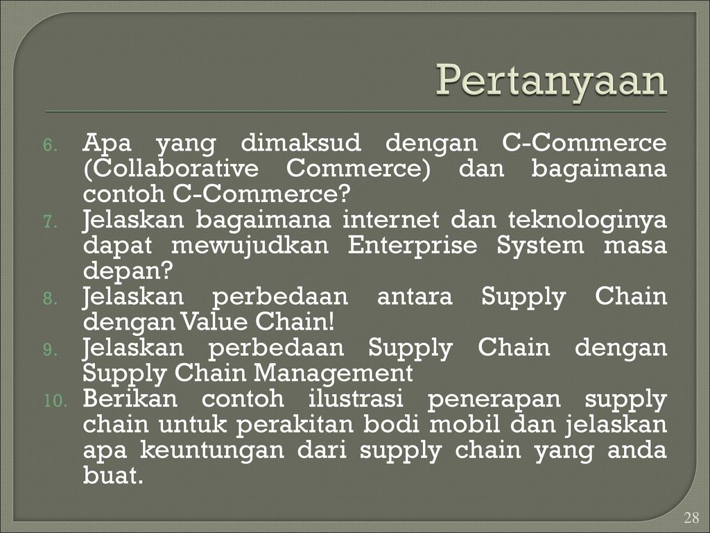 Enterprise Systems Ppt Download