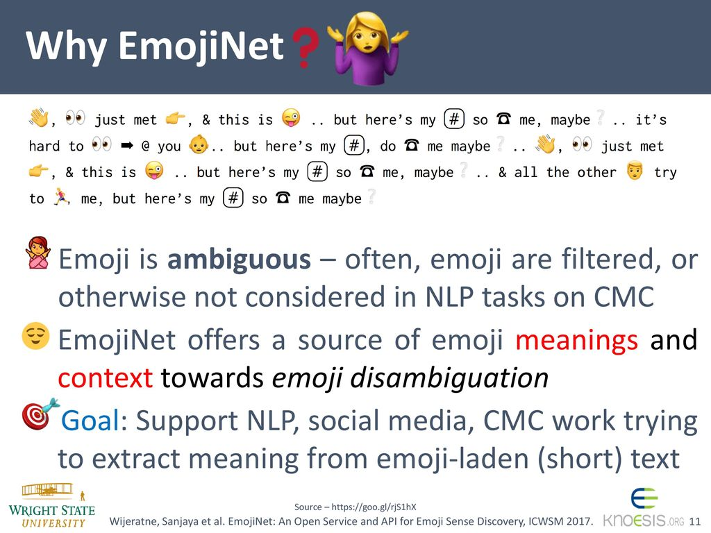 EmojiNet: An Open Service and API for Emoji Sense Discovery