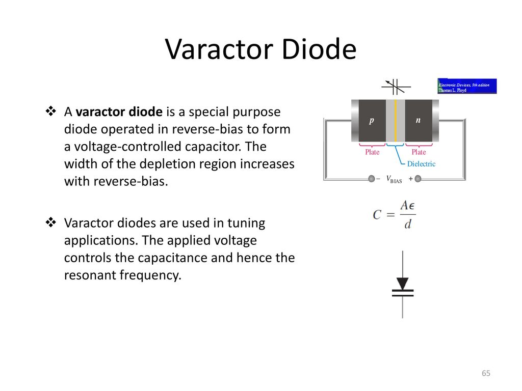 15a04301 Electronic Devices And Circuits Ppt Download Reverse Bias Oscillator Circuit Varactor Diode