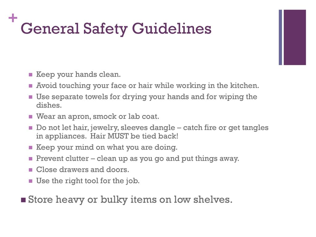 Food and Kitchen Safety - ppt download