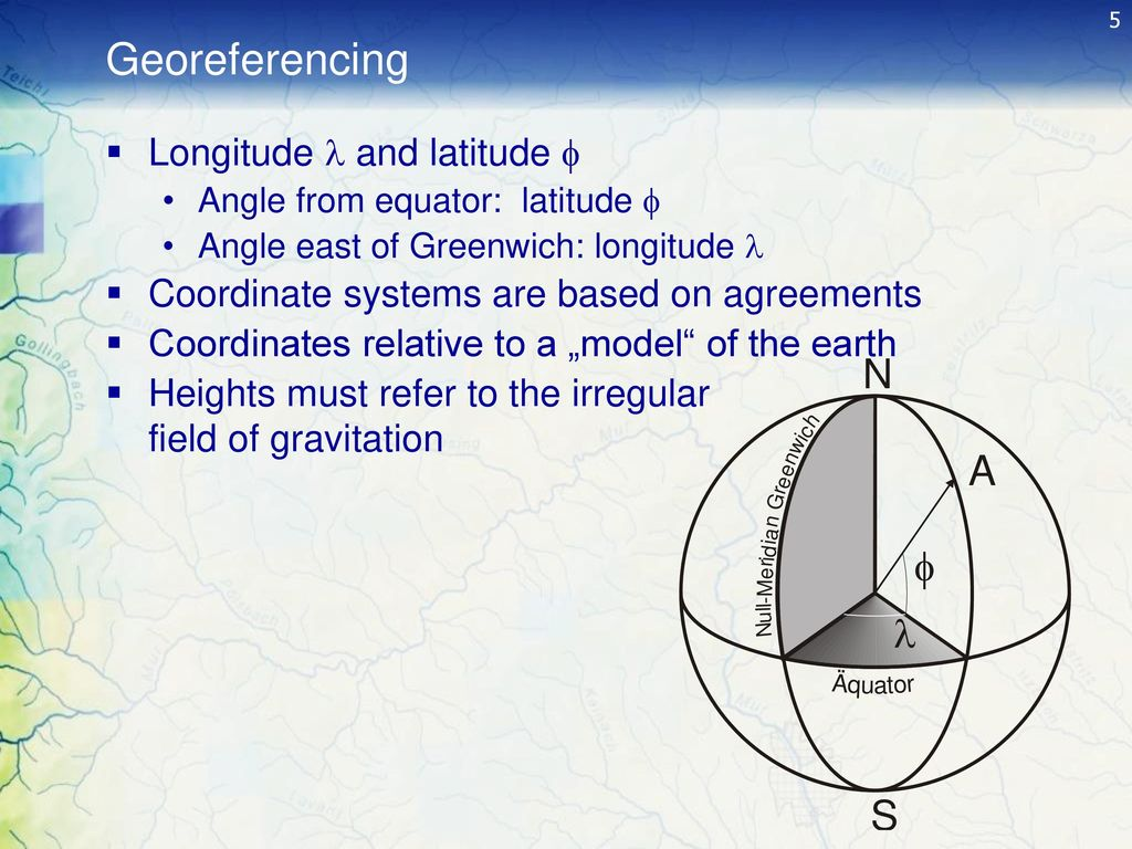 Coordinate Systems and Map Projections - ppt download