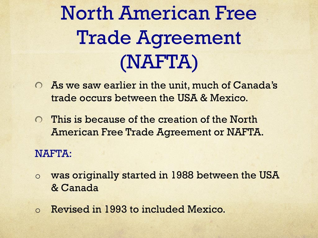 Unit 4 Canadas Foreign Trade Ppt Download