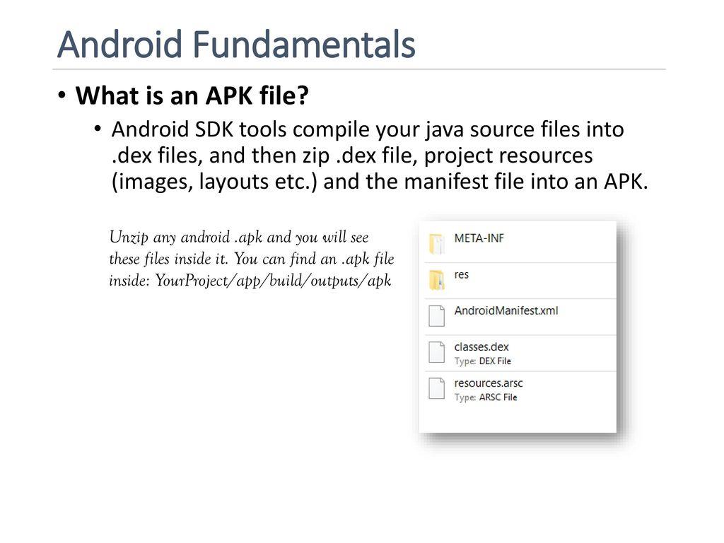 4 Apk Files