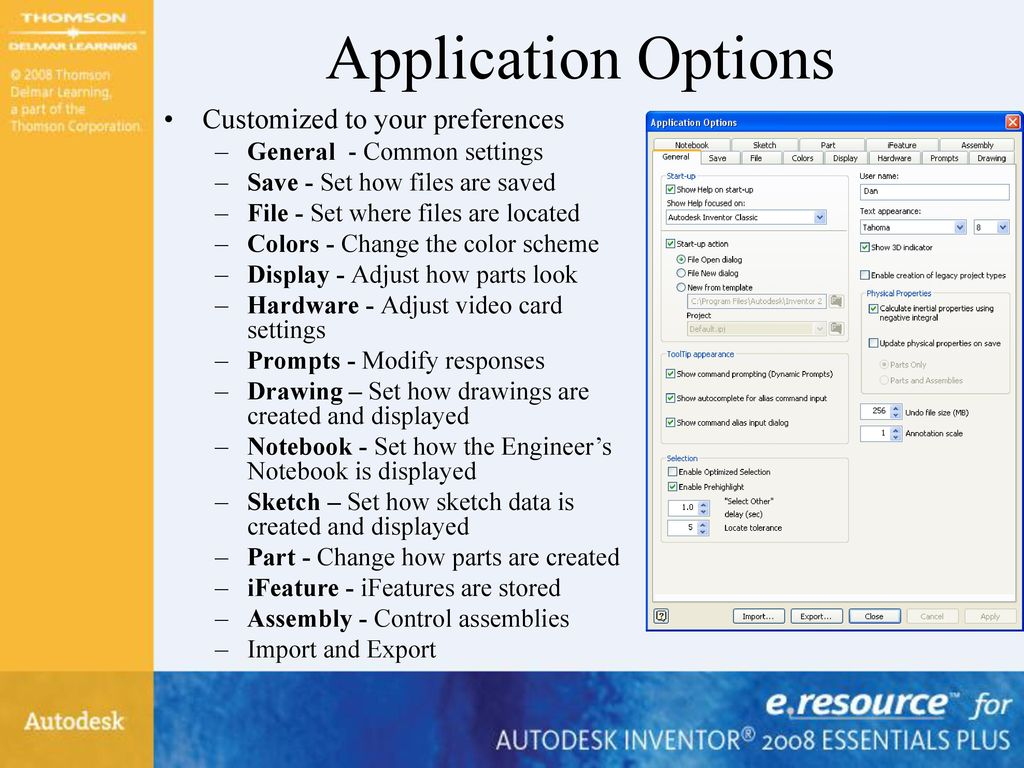 Autodesk Inventor 2008 Essentials Plus - ppt download