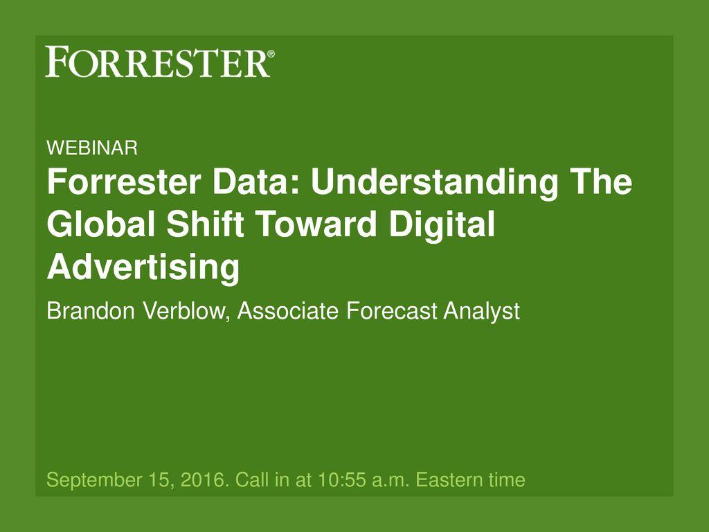 Brandon Verblow Associate Forecast Analyst Ppt Download