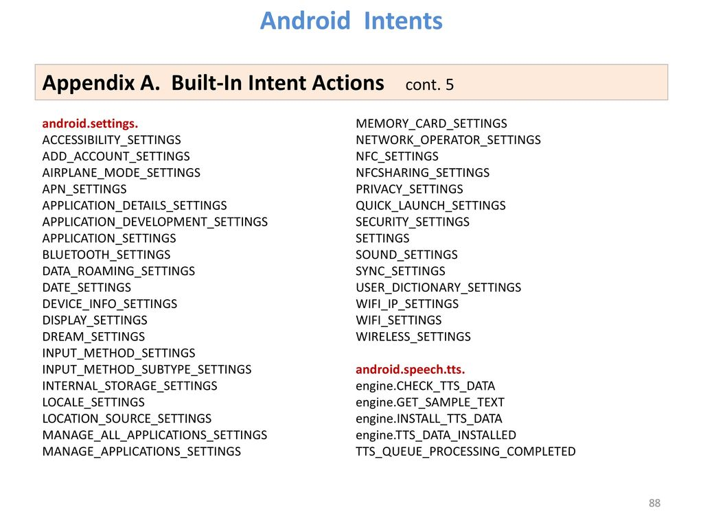 Lesson 10 Android Intents Victor Matos Cleveland State