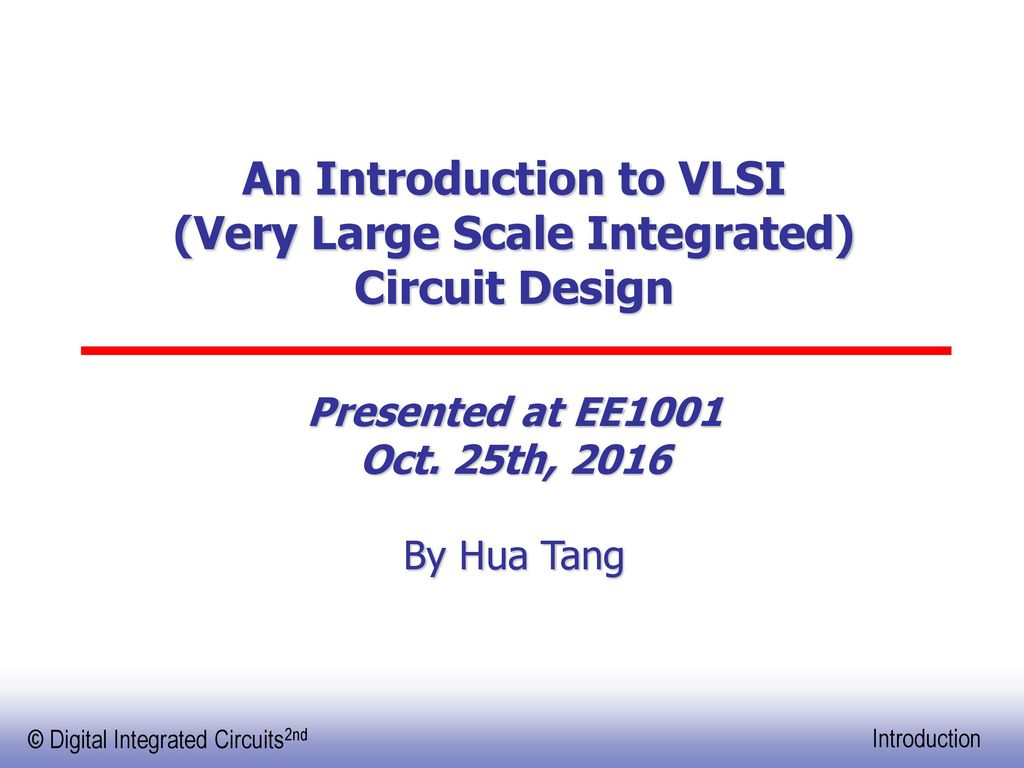 An Introduction To Vlsi Very Large Scale Integrated Circuit Design With Cmos Inverter Ic Electronic Projects Circuits