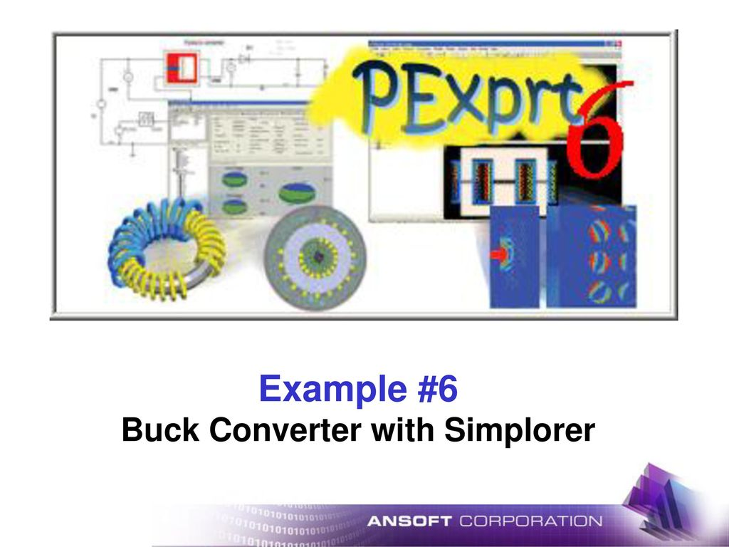 Example 6 Buck Converter With Simplorer Ppt Download Design